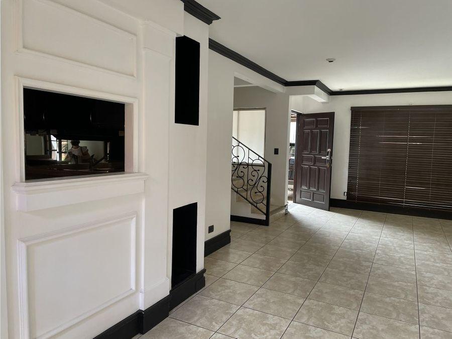 acogedora casa buen precio en escazu bello horizonte