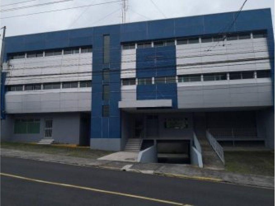 edificio en venta por remate bancario en sabanilla