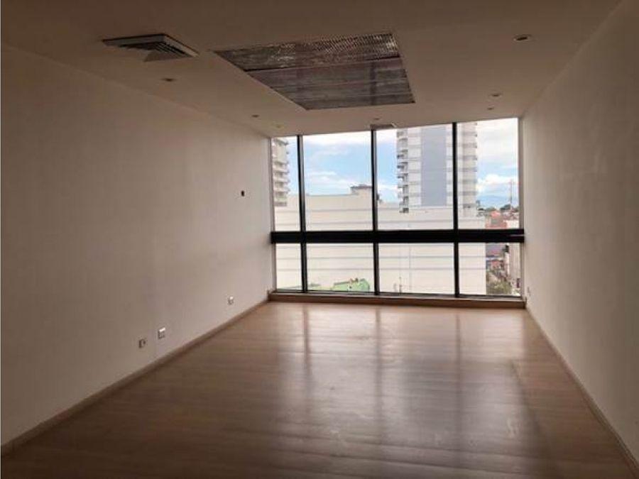 oficina en alquiler piso 8 torre mercedes