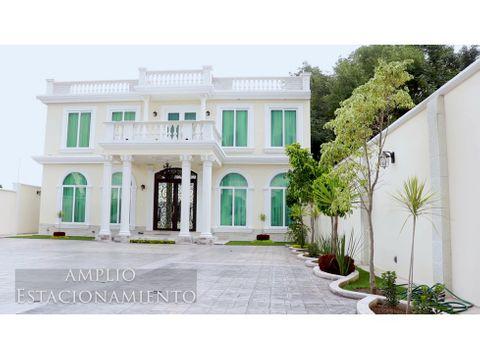 residencia de estilo neoclasico en tlaxcala