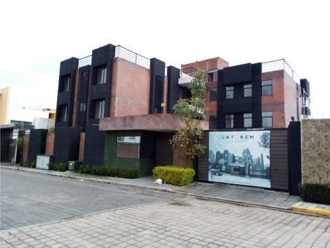 departamentos cholula puebla privada san jacinto laterem