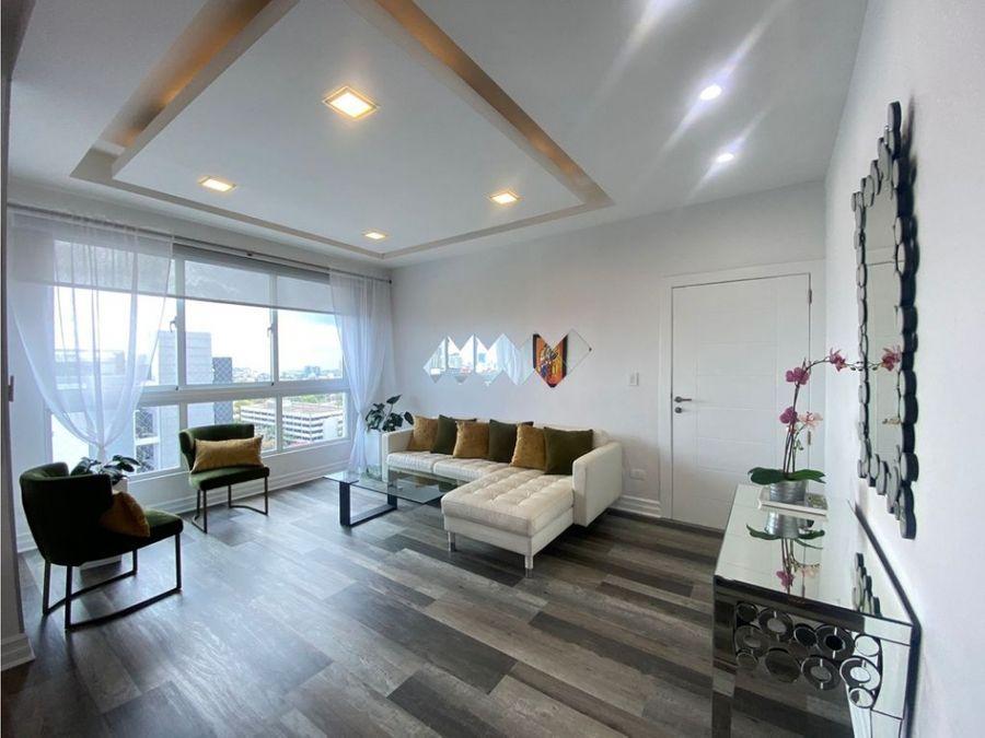vendo apartamento amueblado sector la julia d n