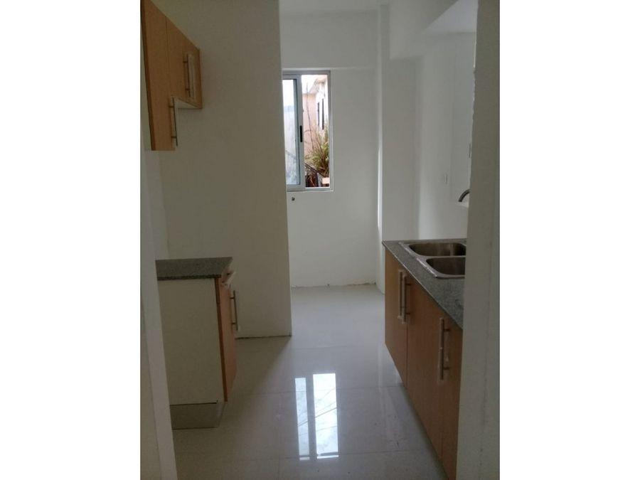 venta de apartamento 2h en urb tropical av independencia 86mts