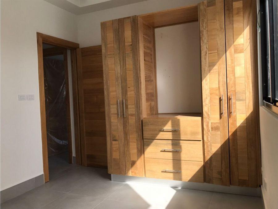 vendo apartamento nuevo tipo pent house evaristo morales d n