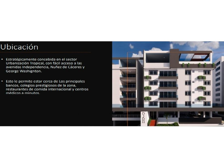 vendo apartamento urbanizacion tropical av independencia d n