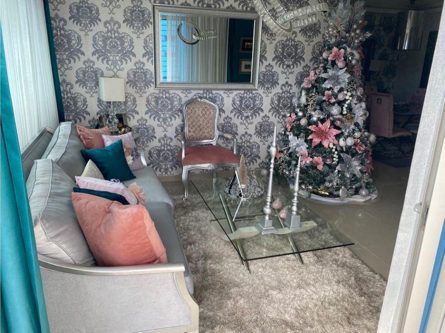 vendo acogedor y elegante apartamento arroyo hondo viejo