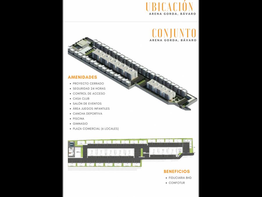 venta apartamentos de 49 69 y 105 mts2 arena gorda bavaro