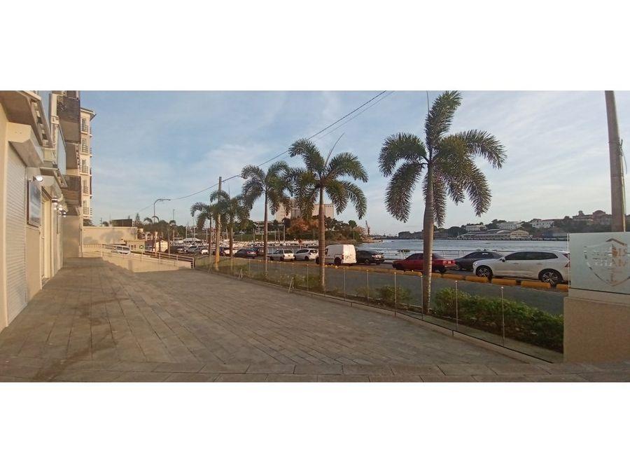 alquiler local comercial 124mts2 frente al rio ozama sde