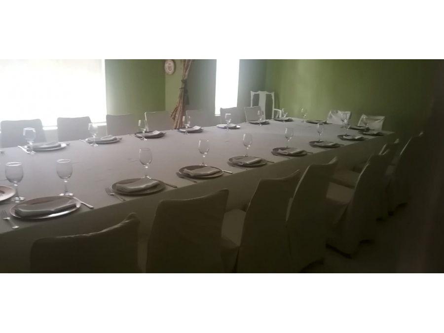 te rento el local para tu restaurante