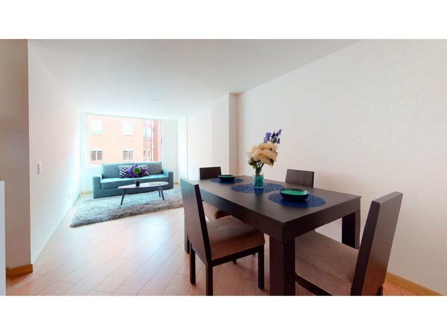apartamento en venta 3 habitaciones suba el salitre con estudio
