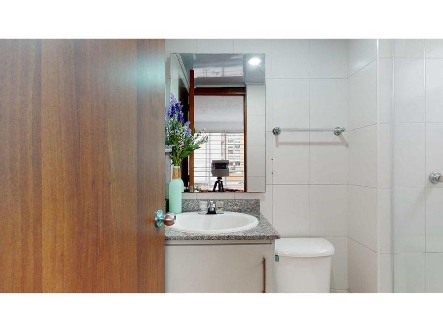 apartamento en venta 2 habitaciones en el norte de bogota con estudio