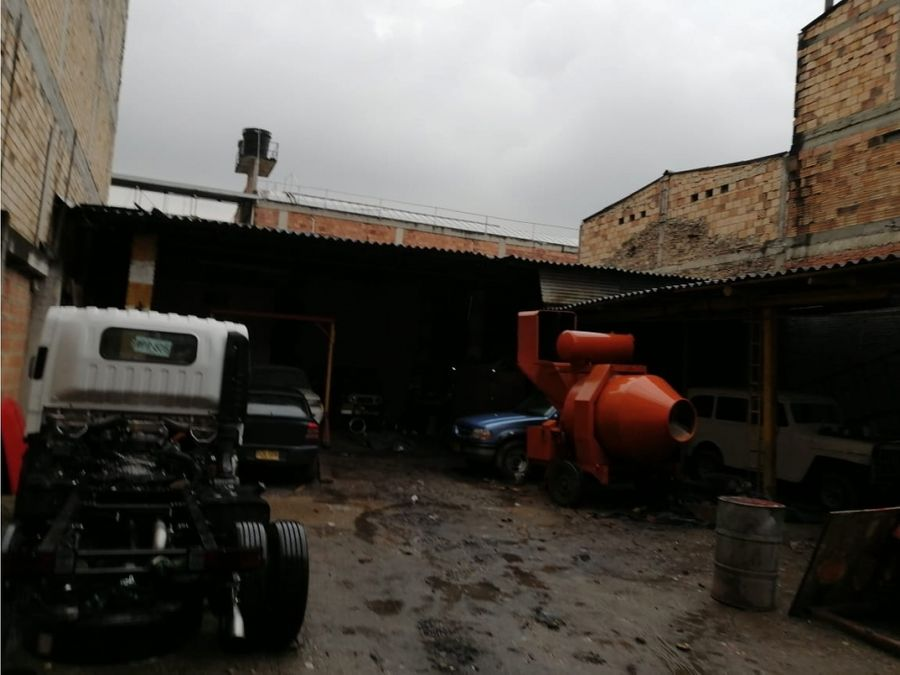 bodega en venta en el ricaute zona industrial bogota