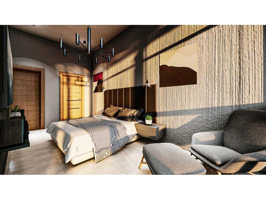 apartamento en venta de 2 habitaciones en juanillo punta cana