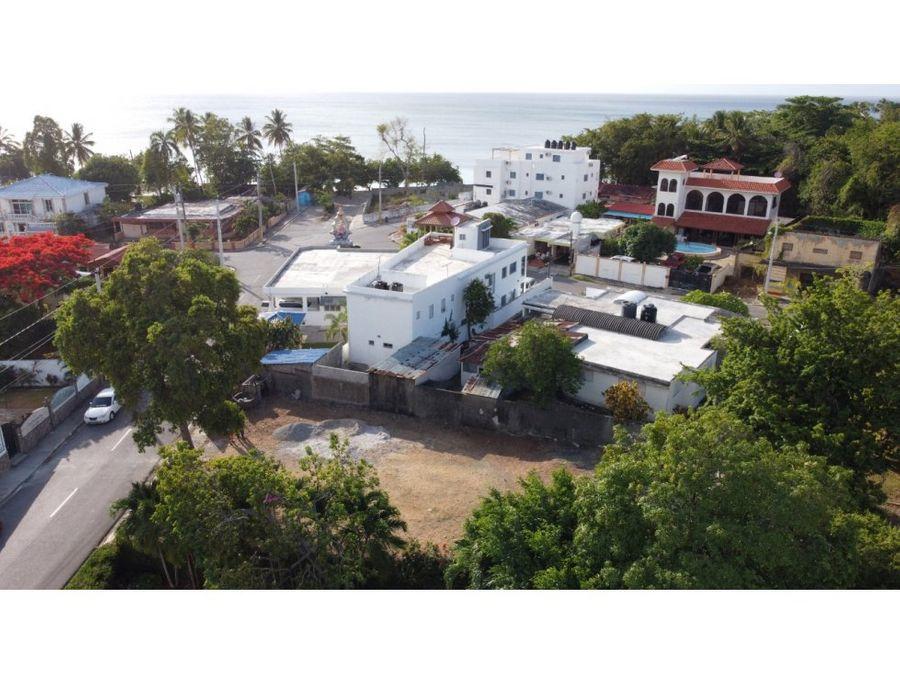 apartamento en venta a 1 minutos de playa los minos en rio san juan