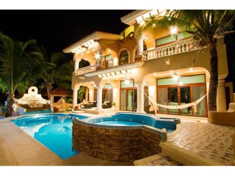 mansion exquisita en cancun