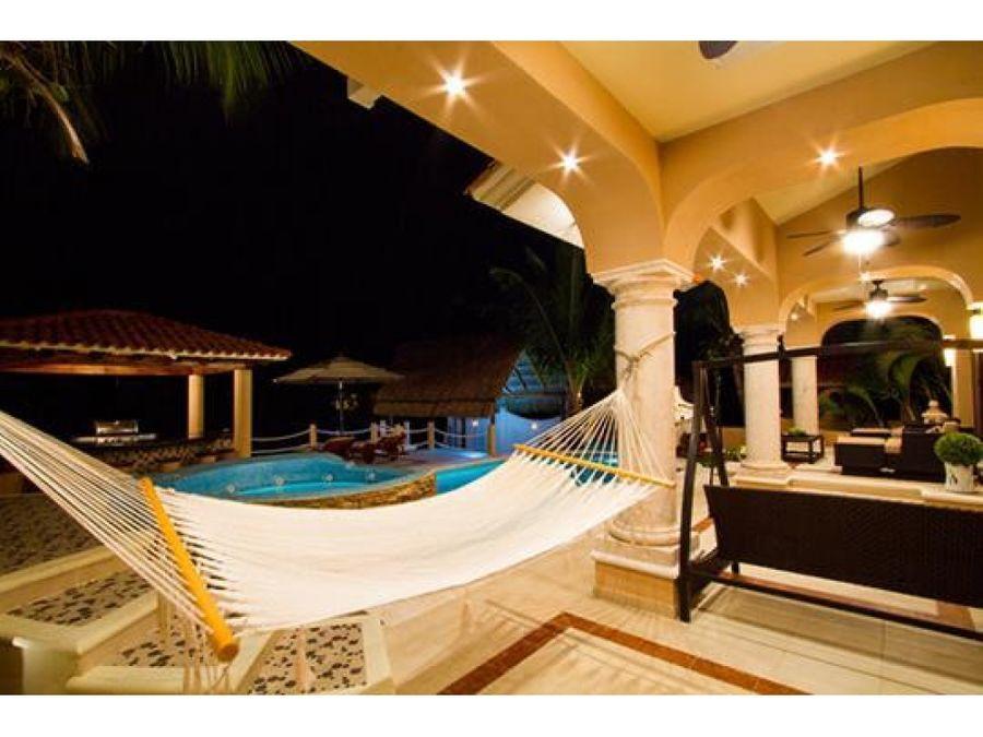 mansion exquisita en cancun