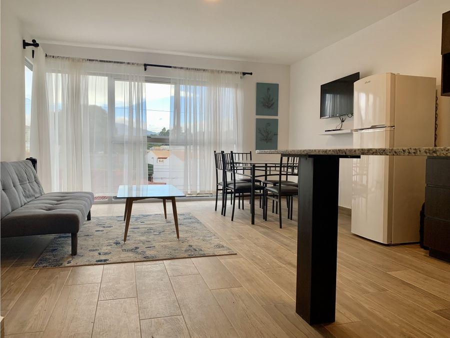 alquiler apartamento amoblado en curridabat pinares