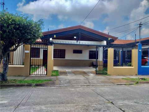 alquiler casa 1 nivel en residencial santo domingo heredia