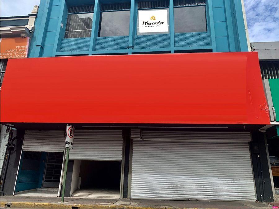 venta alquiler edificio comercial san jose centro