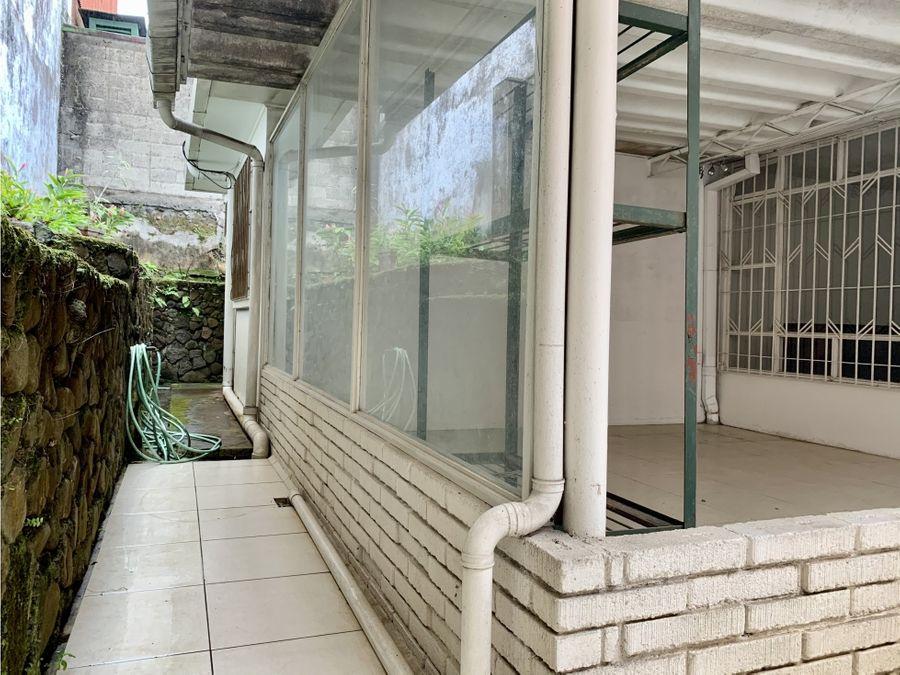 venta casa particular con uso mixto barrio escalante san jose