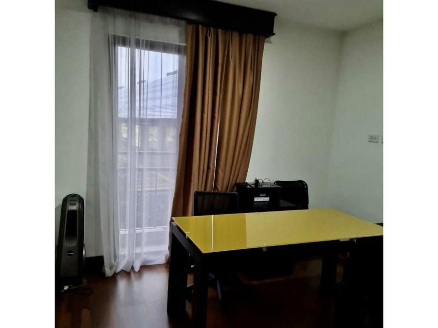 alquiler apartamento en torre amoblado lomas de ayarco curridabat