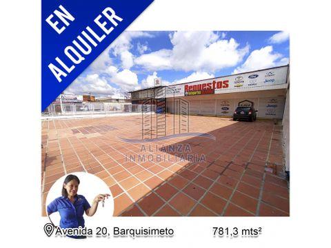local comercial con galpon en la av 20 barquisimeto edo lara