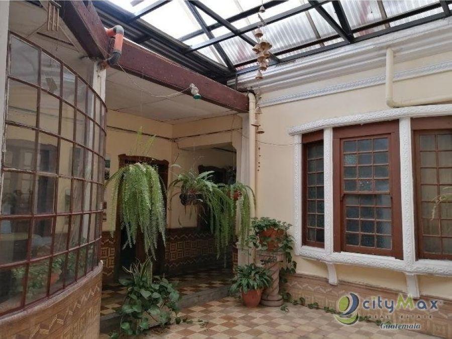 ganga hermosa casa 2a calle zona 2