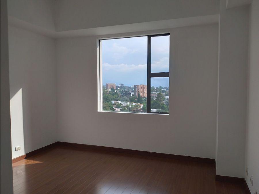 apartamento en zona 15 en venta o renta