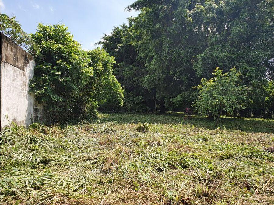 terreno y proyecto en venta zona 3 escuintla