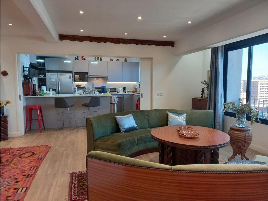 penthouse amueblado