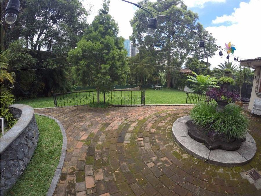 casa en zona 15 vista hermosa 2