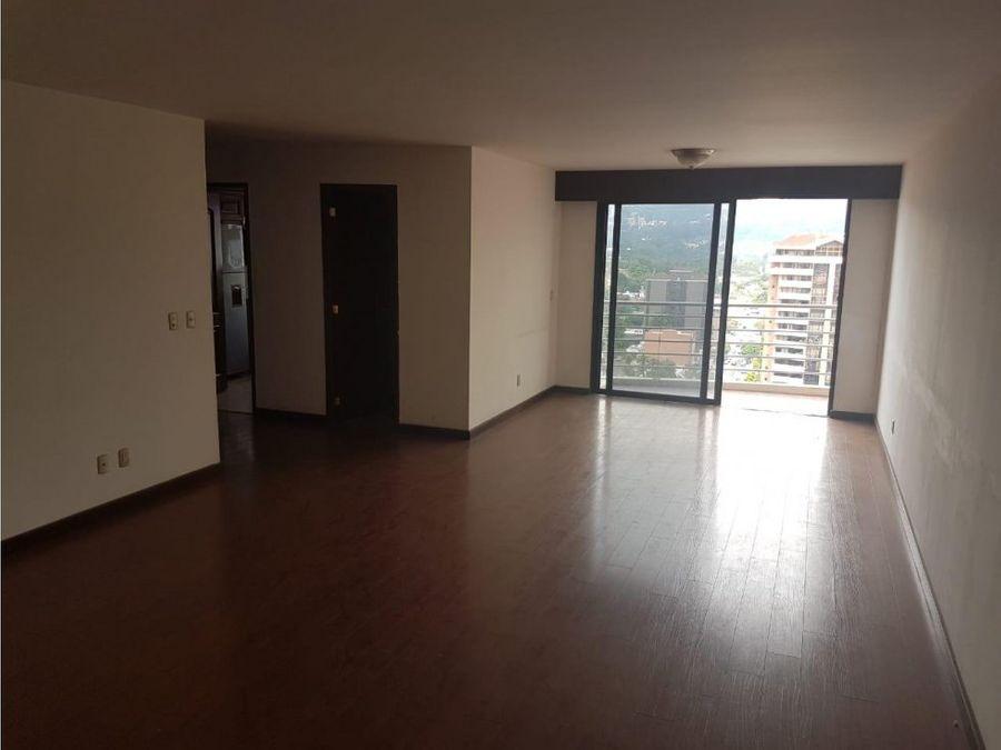 exclusivo apartamento zona 14 en renta