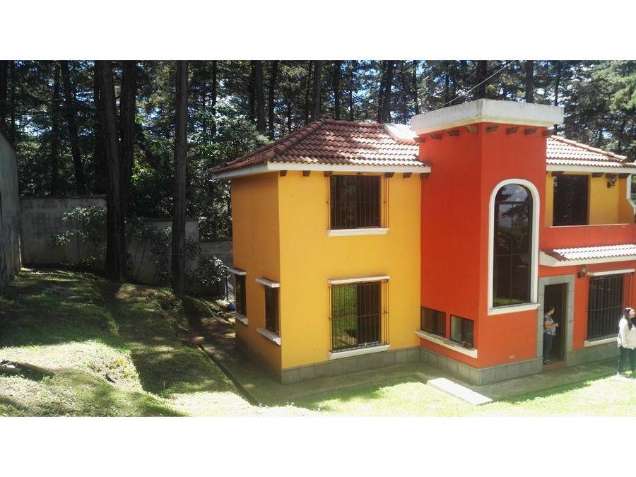 casa en venta santa lucia milpas altas sacatepequez