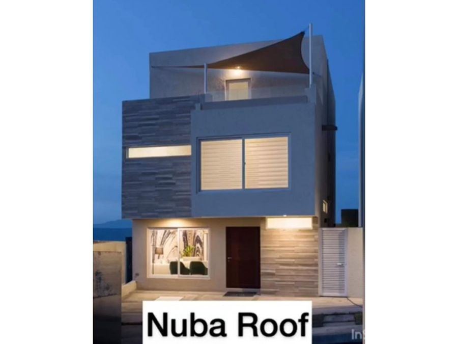 preventa de casa en zibata nuba roof en queretaro