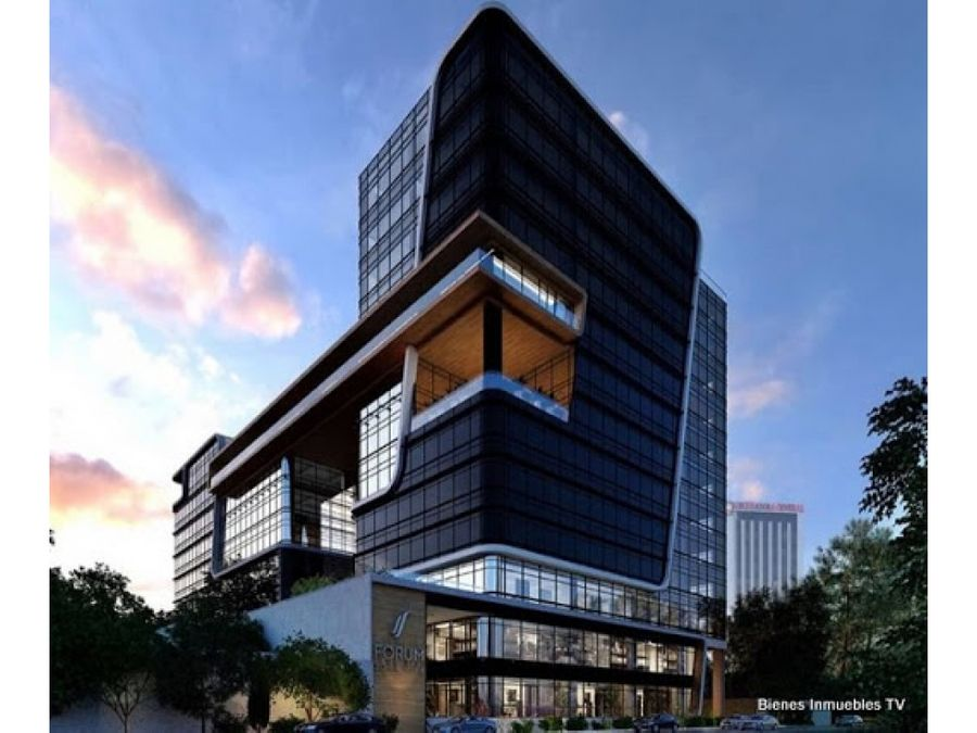 oficina 165 mts en renta zona 10 forum torre i