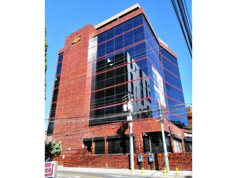 edificio torre granito de oficinas en renta zona 10