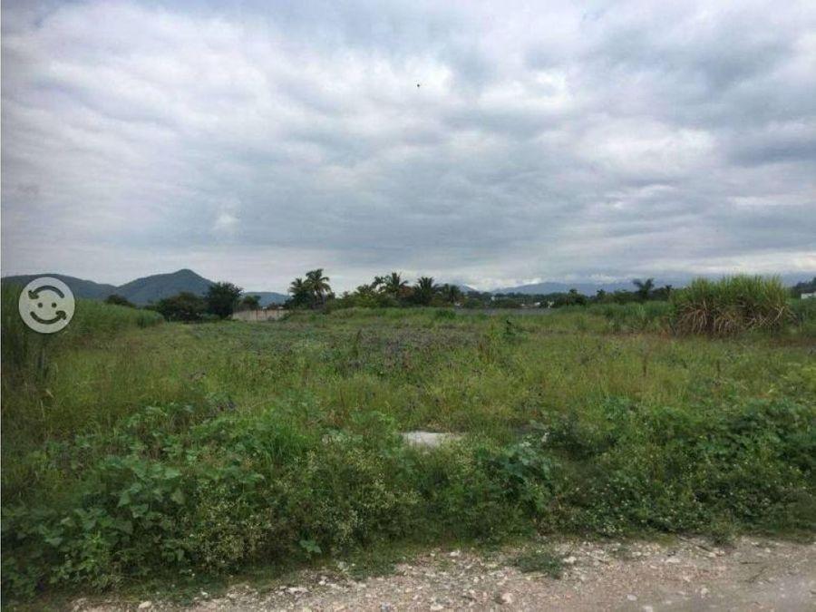 terreno en venta en xochitepec 6000 m2