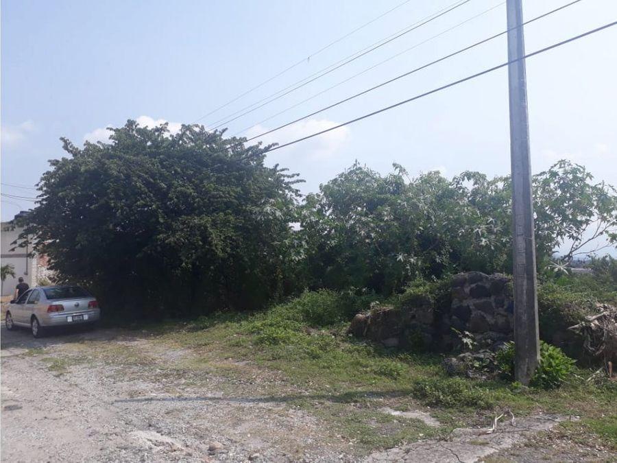 terreno en venta en brisas de cuernavaca 578 m2