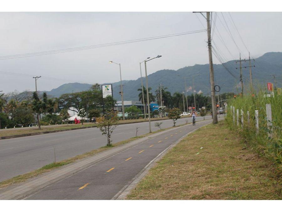 venta de terreno sobre anillo vial villavicencio