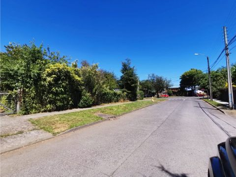 esquina en avenida principal de pucon