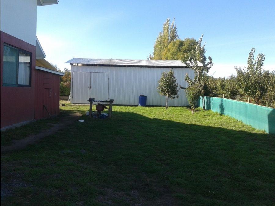 casa en parcela con plantacion de nogales