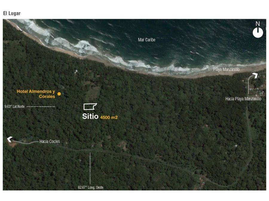 terreno para proyecto de hotel manzanillo de limon