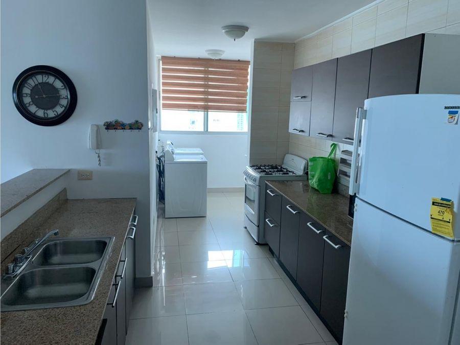 alquiler apartamento punta pacifica amoblado 2 recamaras 1290