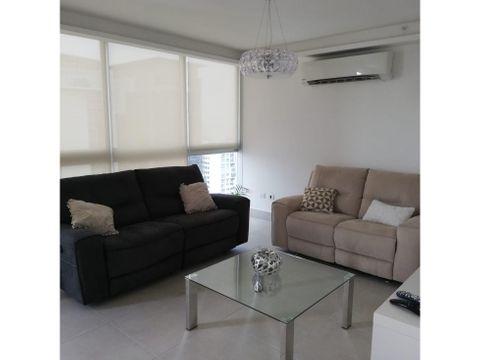 alquiler apartamento obarrio amoblado 2 recamaras 1290 muy espacioso