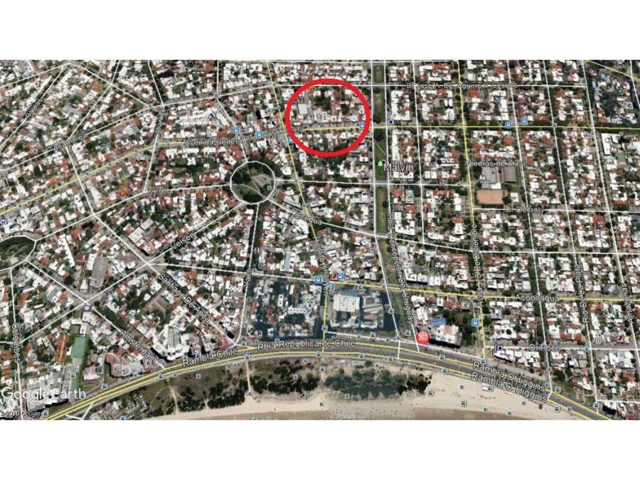 terreno 762 m2 con frente 12 mts sobre rivera