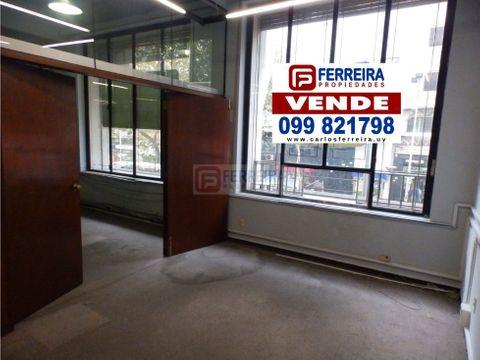 planta de 391 m2 sobre 18 de julio ideal oficina