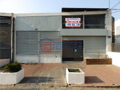 alquiler amplio local de 300 m2 ideal gimnasio o deposito
