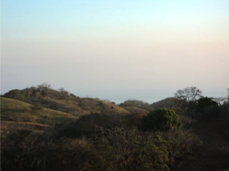 se vende hermosa finca 18 hectareas con vista al mar ostional