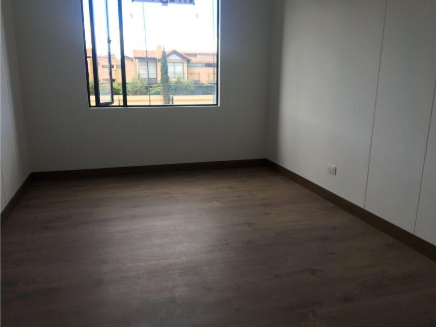 apartamento en venta cajica calahorra tipo club