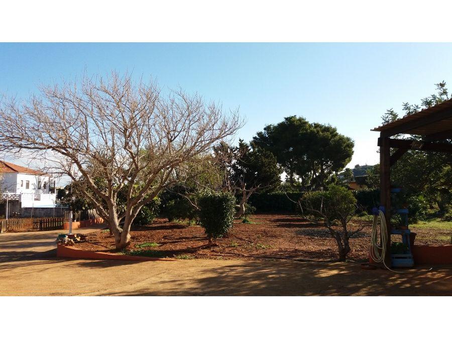 chalet independiente en venta en denia en zona la plana